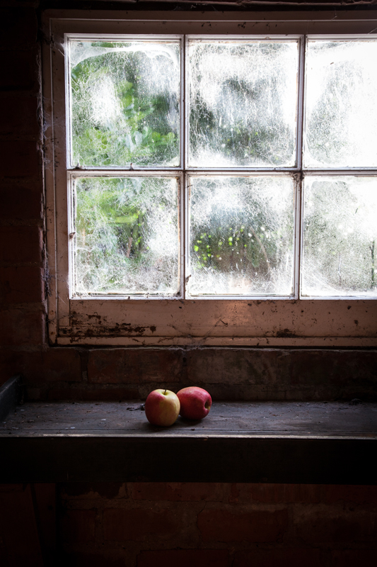 Apples on a Windowsill