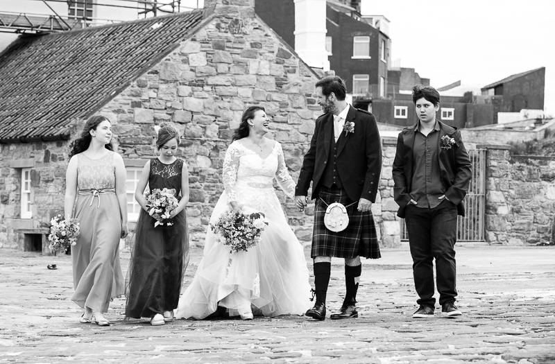 Wedding at Crail Harbour