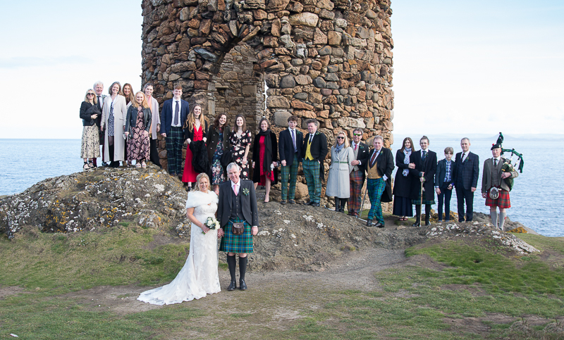 Elie Lady's tower Fife wedding
