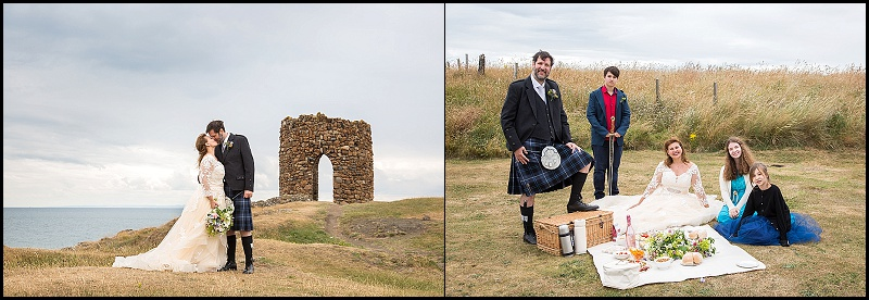 Elie wedding Lady Tower