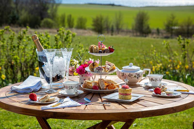 Afternoon tea photography shoot